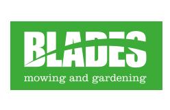 Blades Mowing and Gardening logo